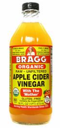 Bragg Raw Apple Cider Vinegar Organic: 500ml