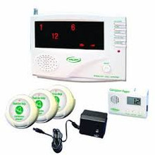 433CMU/40 compete wireless system with three nurse call buttons and 1 pager