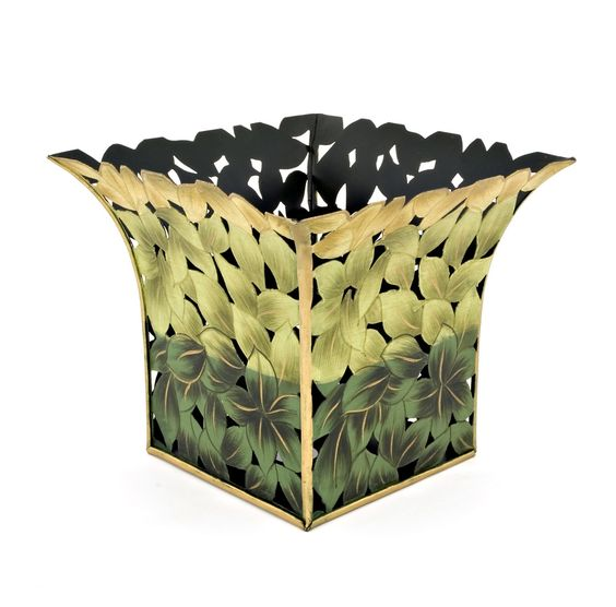 Green Cut-out Planter | Must-Have Bins