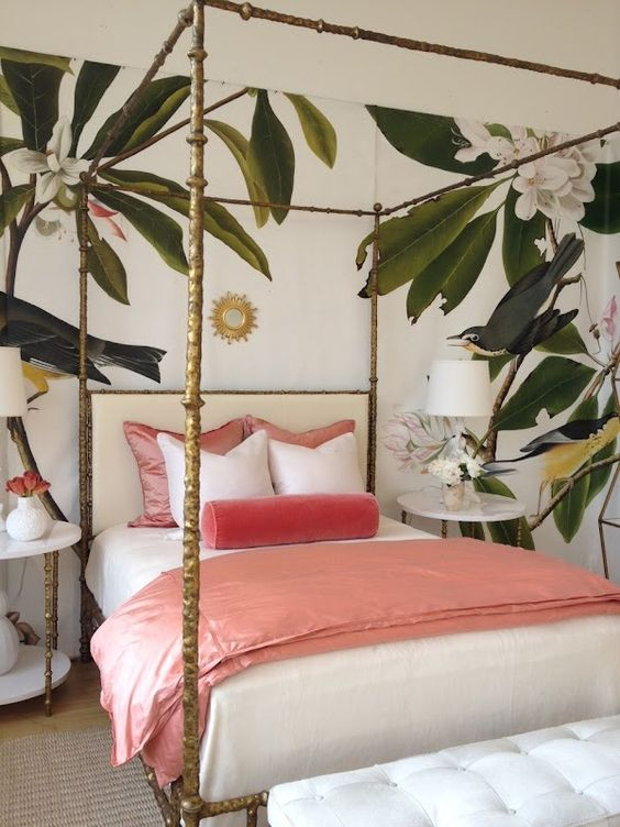 Tropical Bedroom Home Decor