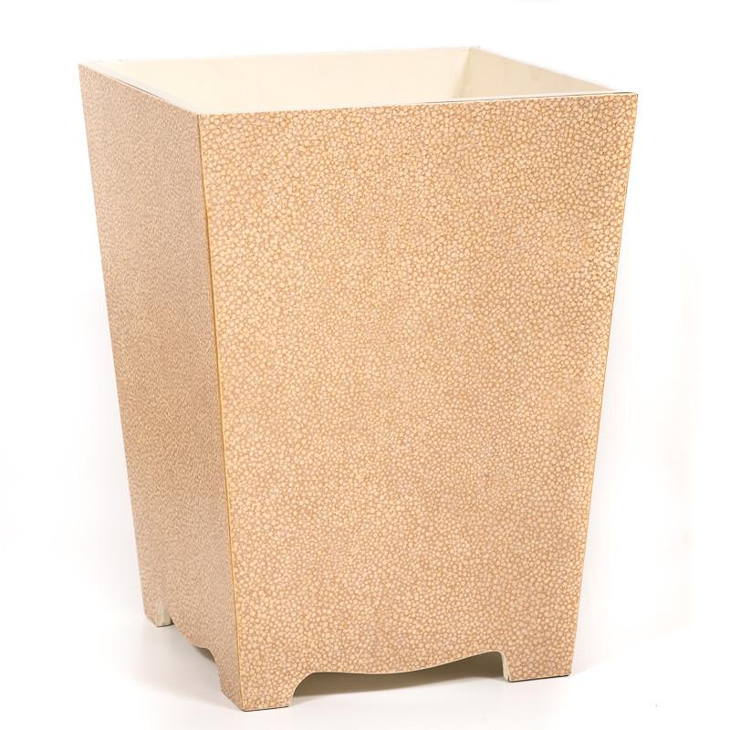 Sumptuous Waste Paper Bin Waste Paper Basket The Galuchat Bin