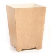 Sand Galuchat Waste Paper Bin