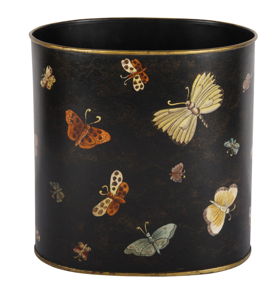 Waste Paper Basket Beautiful Waste Paper Bin  Waste Paper Basket  The Butterfly Bin
