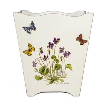Wild flower Waste Paper Bin