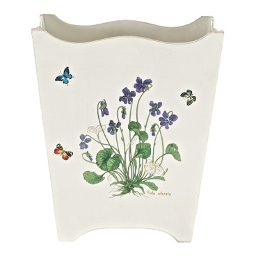 Wildflower with Butterflies Waste Paper Bin
