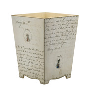 Jane Austen Waste Paper Bin - side
