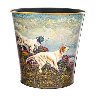 English Setters Waste Paper Bin