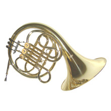 F 3 Valve French Horn with Case