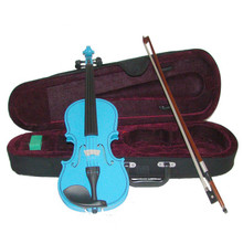 Bright Blue Handmade Viola VA100-BB