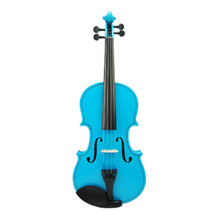 Bright Blue Handmade Violin VN100-BB