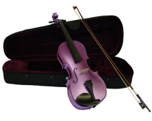 Metallic Purple Handmade Violin VN100-MU