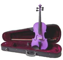 Pastel Purple Handmade Violin VN100-PU