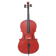 Handcrafted Red Cello CL100-RE