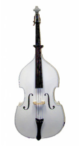 White Upright String Double Bass BA100-WT