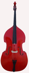 Red Upright String Double Bass BA100-RE