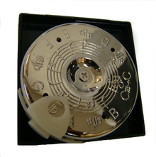 Chrometic C-C Pitch Pipe with Case