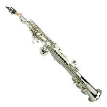 Silver Nickel Soprano Saxophone