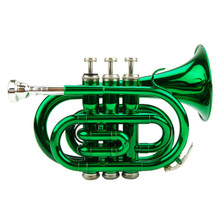 Green Lacquer Pocket Trumpet PT100-GR