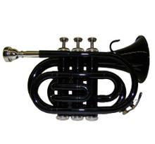 Black Lacquer Pocket Trumpet PT100-BK