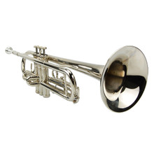 Silver Nickel Plated Trumpet
