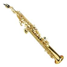 Gold Lacquer Soprano Saxophone