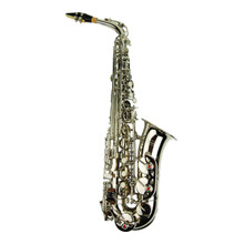 Silver Nickel Plated Alto Saxophone