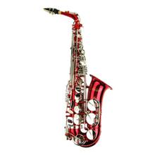 Red Lacquer Alto Saxophone