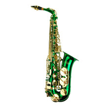 Green Lacquer Alto Saxophone