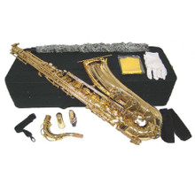Gold Lacquer Tenor Saxophone