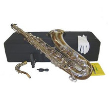 Silver Nickel Plated Tenor Saxophone