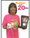 Donna at the 20 lb. mark...she went on to lose almost 30 lbs. Awesome job, Donna!