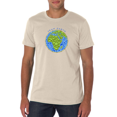 We're really all in this together, aren't we? Each one of us belongs to a collective soul. Think globally with this shirt featuring an awesome design!