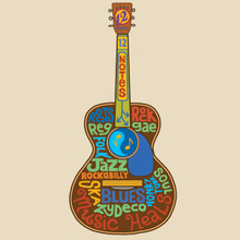 The 12 notes of the chromatic scale are the basis for every chord and melody in most Western music. Roots, Rock, Reggae, Folk, Jazz, Rockabilly, Ska, Blues, Honky Tonk, Soul, and Zydeco all have something in common: just 12 notes!