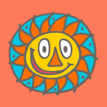 This is Mr. Sun, the whole reason why it's possible for us to be here. We completely understand why primitive cultures worshiped the sun, although it makes us feel sorry for the moon.