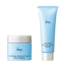 IPSA Essence for Pore Perfect Clear Pre-cream 25g, Mask 30g
