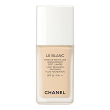 CHANEL LE BLANC Light Revealing Whitening Fluid Foundation ~ new for Summer  13