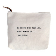 """Be In Love"" Canvas Bag"
