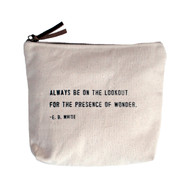 E.B. White Canvas Bag