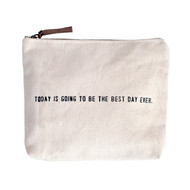 """Best Day Ever"" Canvas Bag"
