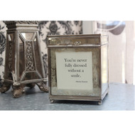 Mirrored Quote Box