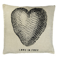 Love is Free Pillow