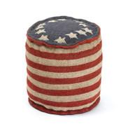 Betsy Ross Pouf