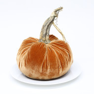 """10"""" Velvet Pumpkin"""