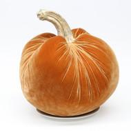 """LUCA (16"""") Velvet Pumpkin"""
