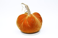 "LE  14""  Velvet Pumpkin with Swarovski Crystals"
