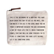 This is the Beginning - Canvas Bag