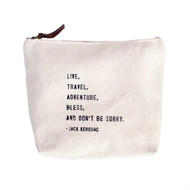 Live, Travel - Canvas Bag