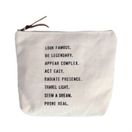 Look Famous - Canvas Bag