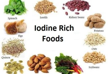 Foods Rich in Iodine