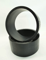 "HDPE Sleeves | 10"" BLACK"
